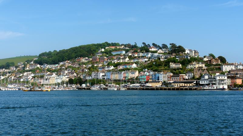 Kingswear from Dartmouth in South Devon, The United Kingdom, May 21, 2018.  stock photo