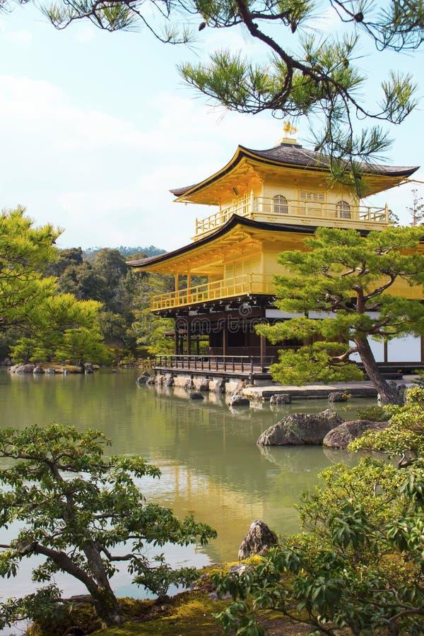 Kinkaku-kinkaku-ji, Κιότο, Ιαπωνία στοκ φωτογραφία με δικαίωμα ελεύθερης χρήσης