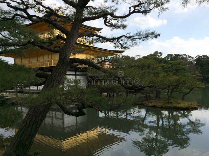 kinkaku-ji Κιότο στοκ εικόνες