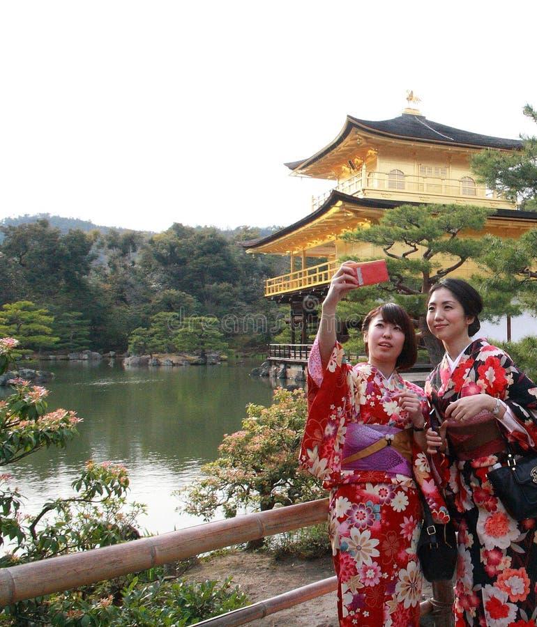 Kinkaku-ji stockfotografie
