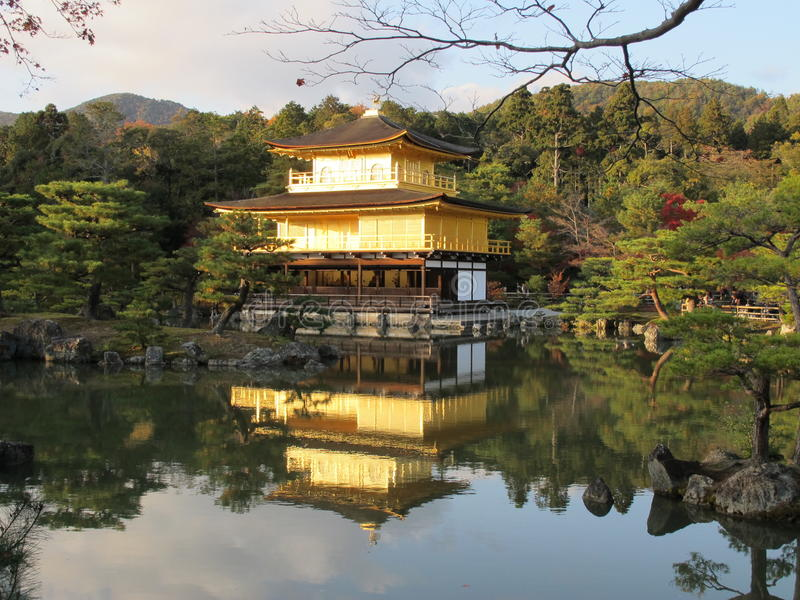 Kinkaku-JI photographie stock