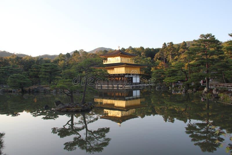 Kinkaku-ji, Kyoto, Giappone immagine stock libera da diritti