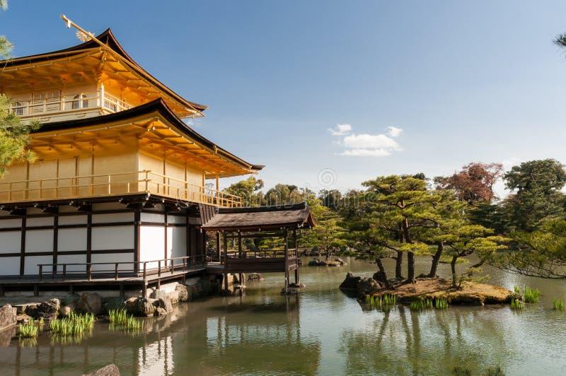 Kinkaku-Ji tempel royaltyfri foto