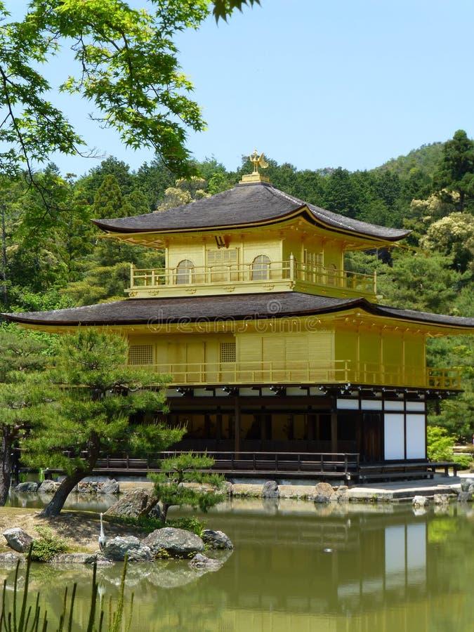 Kinkaku-ji, Temple of the Golden Pavillion, Kyoto, Japan royalty free stock image