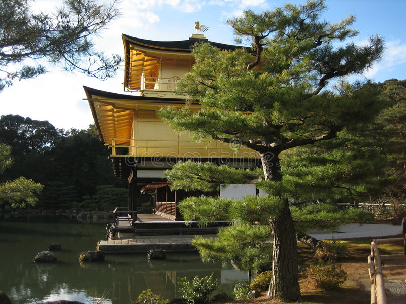 Download Kinkakuji stock photo. Image of golden, beauty, design - 3709572