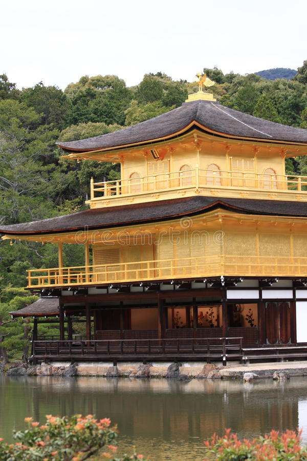 Download Kinkakuji castle stock photo. Image of golden, civilization - 14209532
