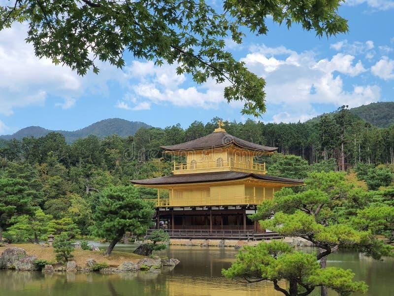 Kinkakuji Golden Pavillon. Kyoto, japan royalty free stock photos