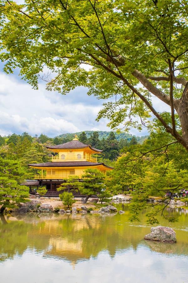 Kinkakuji (goldener Pavillion) lizenzfreies stockfoto