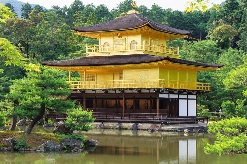 Kinkakuji royalty free stock photo