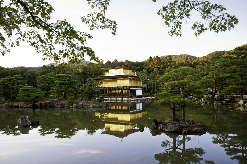 Download Kinkakuji Temple Of The Golden Pavilion, Kyoto, Japan. Stock Photo - Image: 28373352
