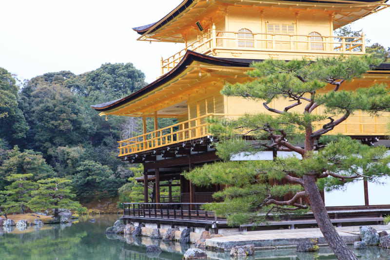 Download Kinkakuji Temple stock image. Image of asian, attraction - 29808871