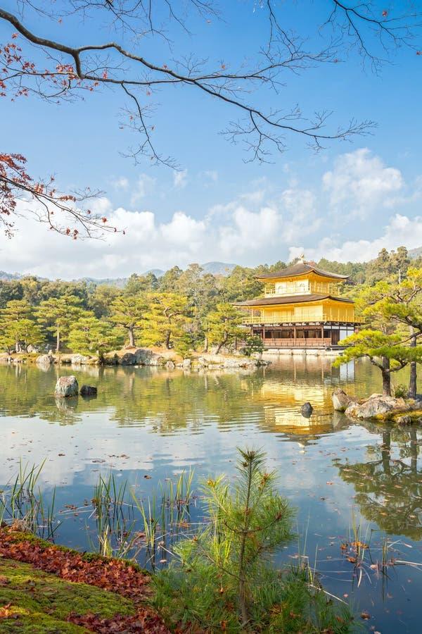 Kinkakuji Temple In Kyoto Japan Stock Images