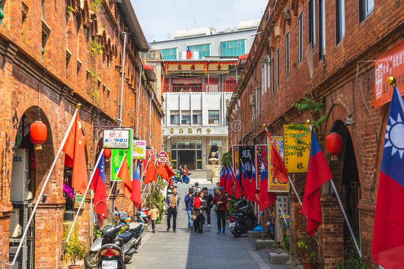 Kinmen, Ταϊβάν - 2 Μαρτίου 2019: Οδός Mofan, όπου ο διοικητής Zheng Chenggong Koxinga δυναστ στοκ εικόνα με δικαίωμα ελεύθερης χρήσης