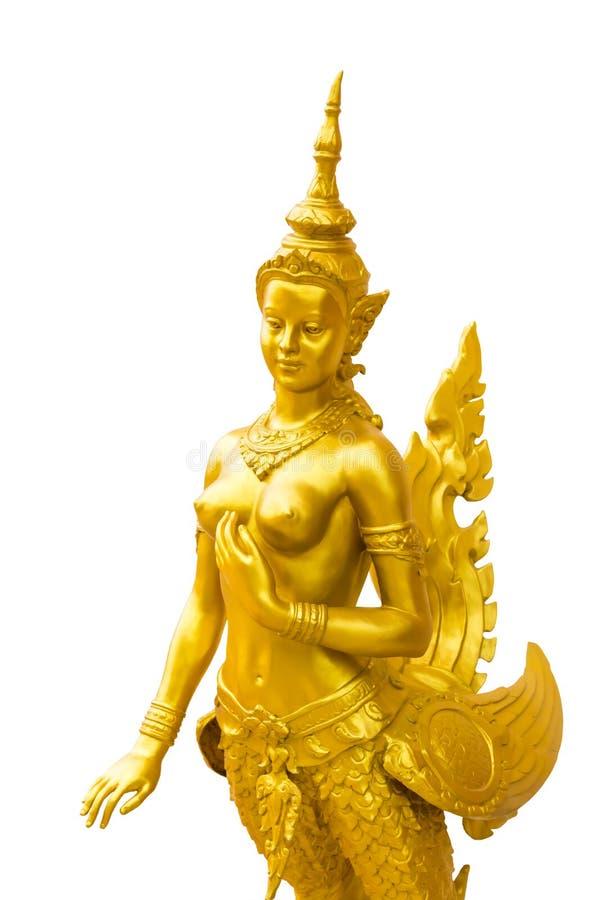 Kinnara en Tailandia fotografía de archivo libre de regalías
