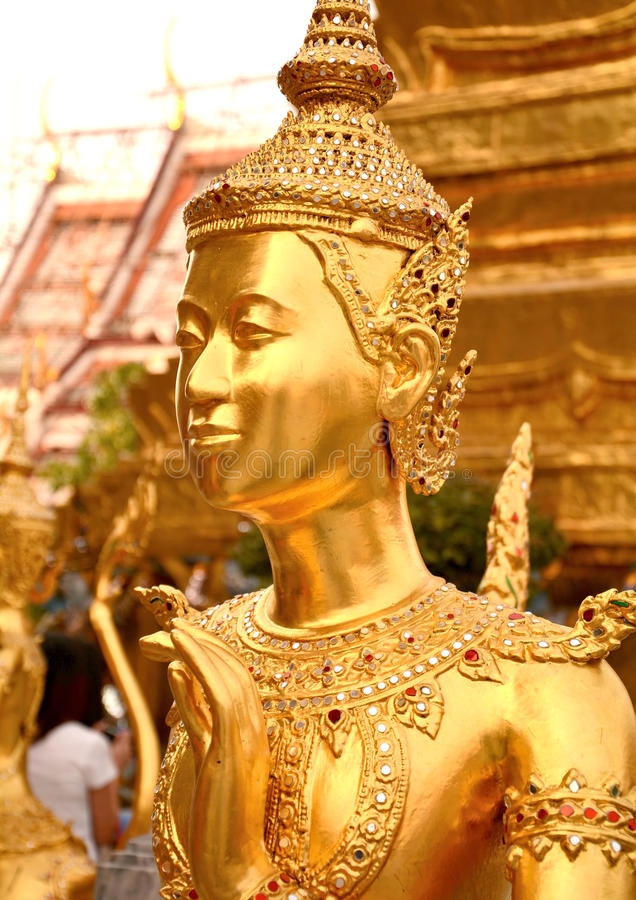 Kinnari rzeźba fotografia royalty free