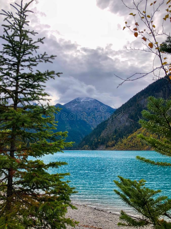 Kinney jezioro fotografia stock