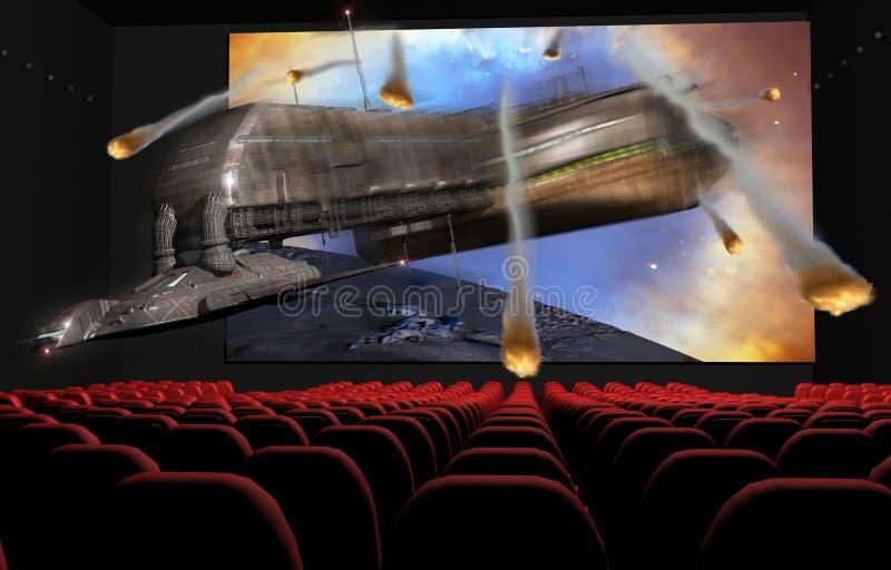 Kino 3D stock abbildung