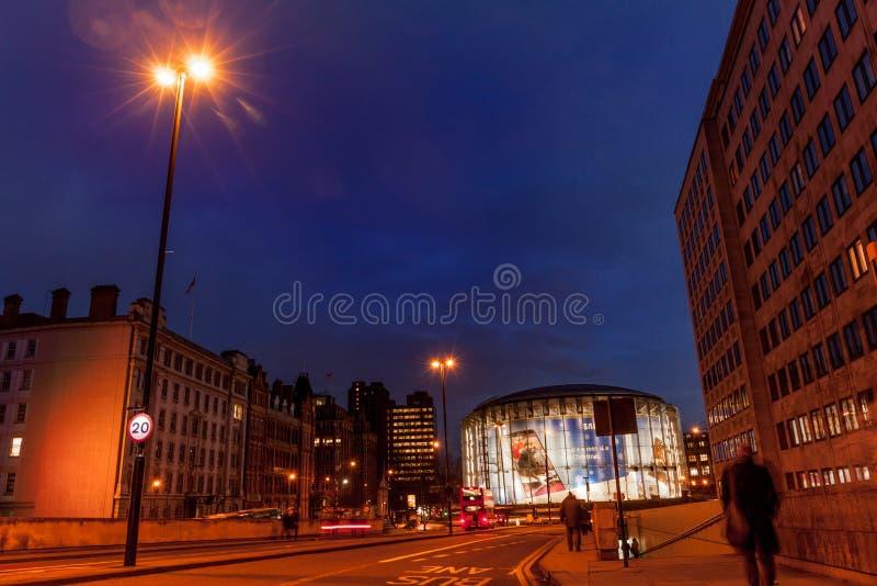 Kino Londons Waterloo IMAX lizenzfreies stockfoto