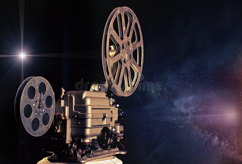 Download Kino - Maschine Von Träumen Stockfoto - Bild von feld, retro: 26361532