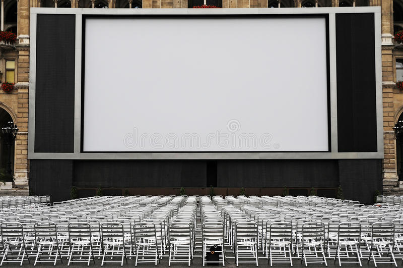 kino plenerowy zdjęcia stock