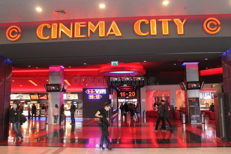 Kino-Stadt lizenzfreies stockfoto