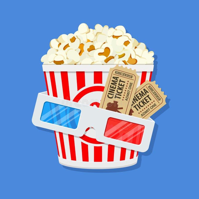 Kino- und Filmzeit vektor abbildung