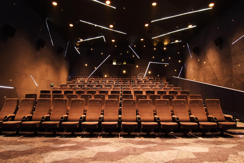 Kinohalle lizenzfreie stockfotografie