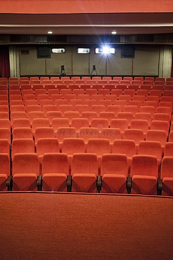Kinohalle lizenzfreie stockfotos