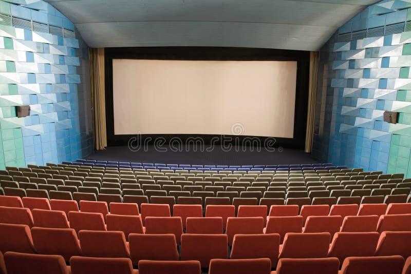 Kinoinnenraum stockbild