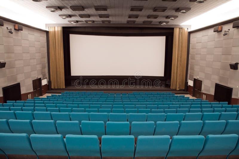 Download Kinoinnenraum stockbild. Bild von projektion, szene, raum - 9077519