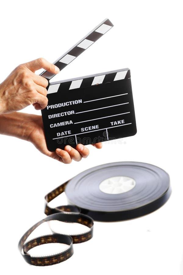 Kinoklatschen stockbild