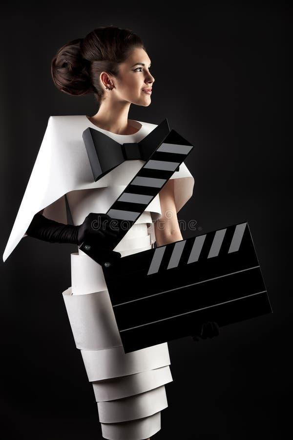 Kinoschauspielerin stockfotos