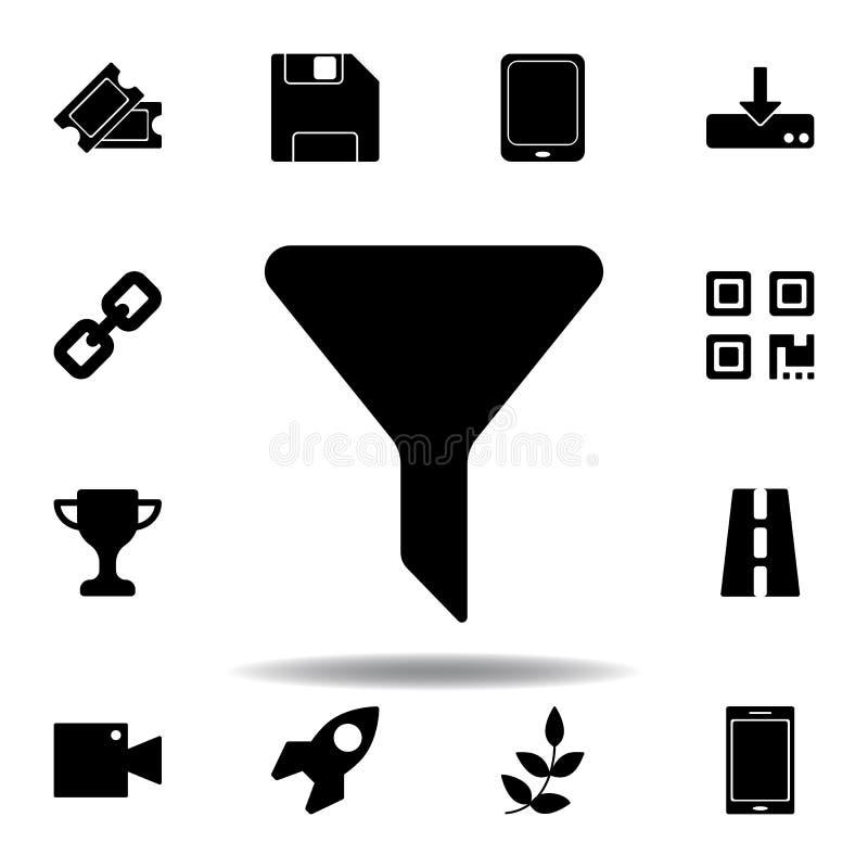 Kinowa bilet ikona Znaki i symbole mog? u?ywa? dla sieci, logo, mobilny app, UI, UX ilustracja wektor