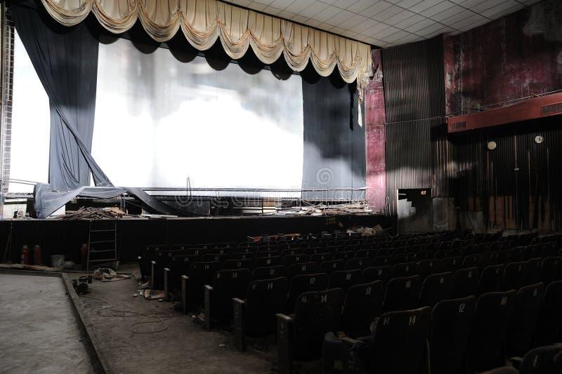 kinowa ruina obrazy stock