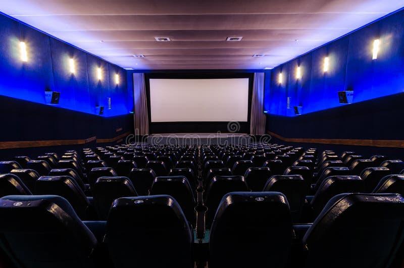 Kinowa sala obrazy stock