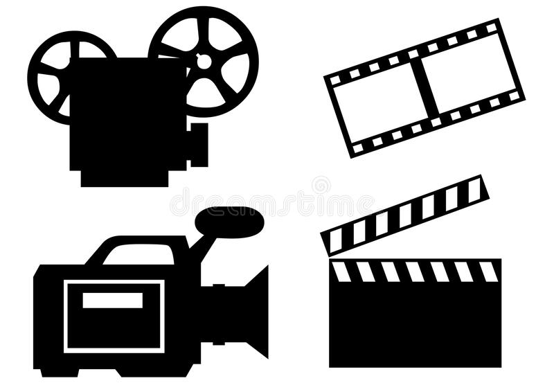 kinowy przemysł royalty ilustracja