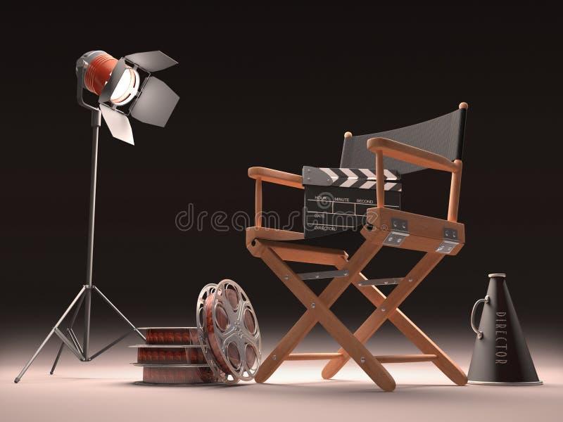 Kinowy Punkt ilustracja wektor