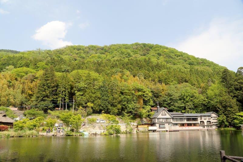 Kinrinko湖 库存图片