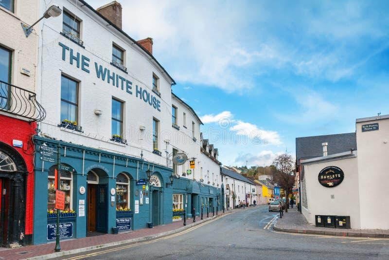 Kinsale, cortiça do condado, a República da Irlanda imagens de stock
