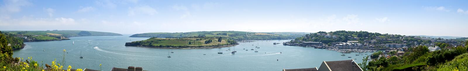 Download Kinsale Harbor Panorama, Cork Stock Photo - Image: 33269792