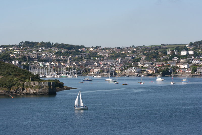 Kinsale in Ireland royalty free stock image