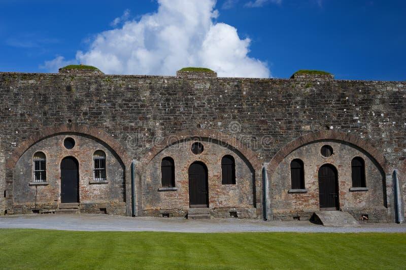 Kinsale Irlanda della fortificazione del Charles immagine stock