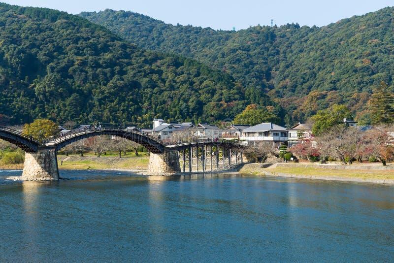 Kintai Bridge in Iwakuni of Japan royalty free stock photography