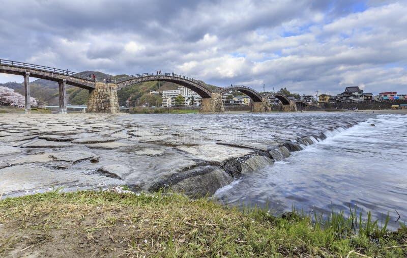 Kintai Bridge 1 stock image