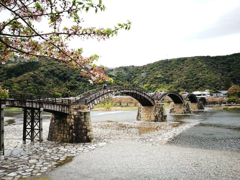 Kintaikyo桥梁 免版税库存图片