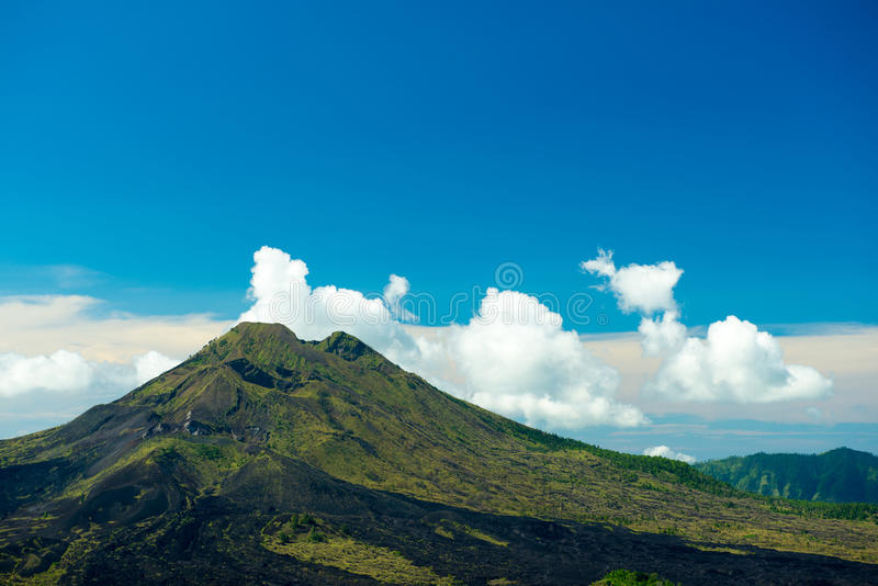 Kintamani Volcano, Ubud, Bali, Indonesia stock photo