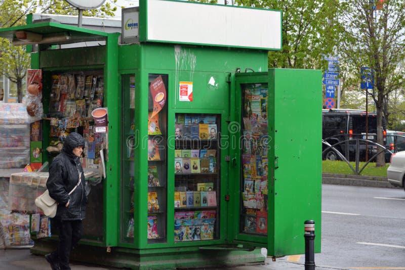 kiosk fotografie stock libere da diritti