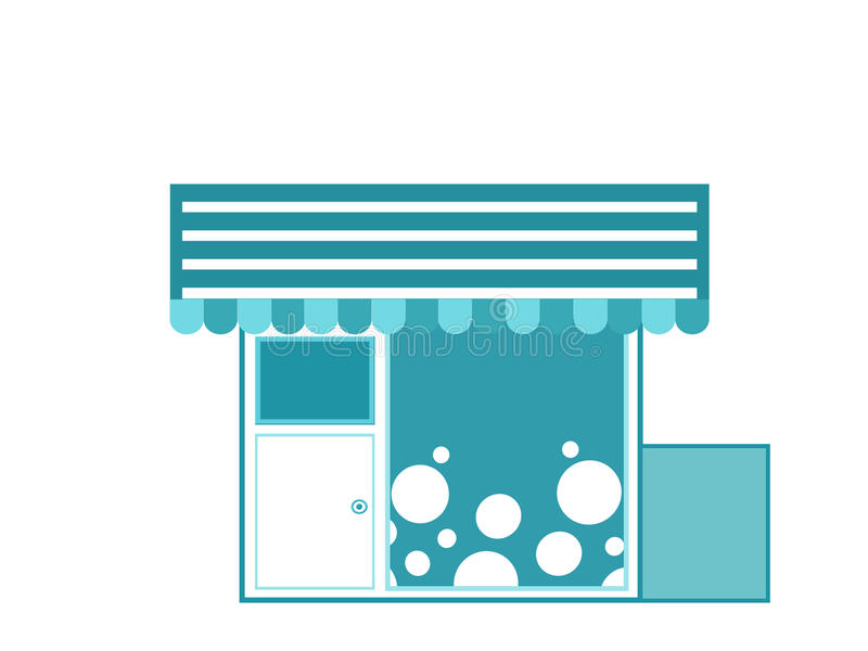 Kiosk, Clipartkiosk vektor abbildung