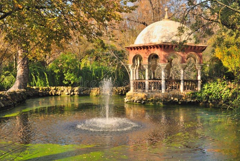 Kiosk park royalty free stock photos