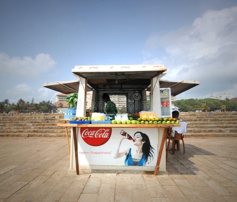 Download Kiosk Shop editorial stock photo. Image of fruit, lanka - 25512003